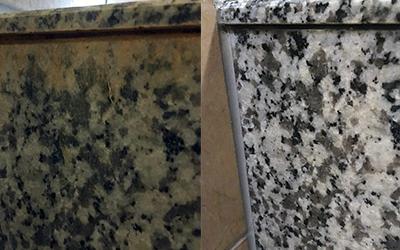 石材構築物の洗浄と特殊コーティング